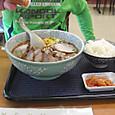 昼食;青龍ラーメン さかき